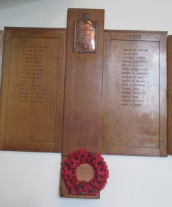 Roll of Honour Board